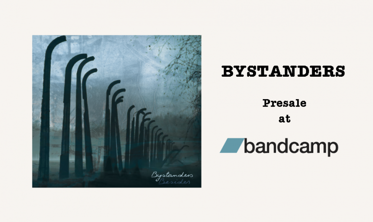 BYSTANDERS ALREADY IN PRE-SALE.<br>PREMIERE ON 27.01​